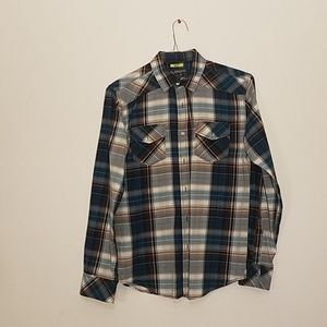American Rag blue long sleeve button down size S